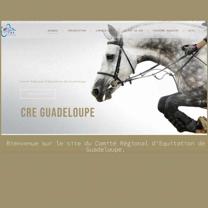 Site web CRE Guadeloupe Sport I Am